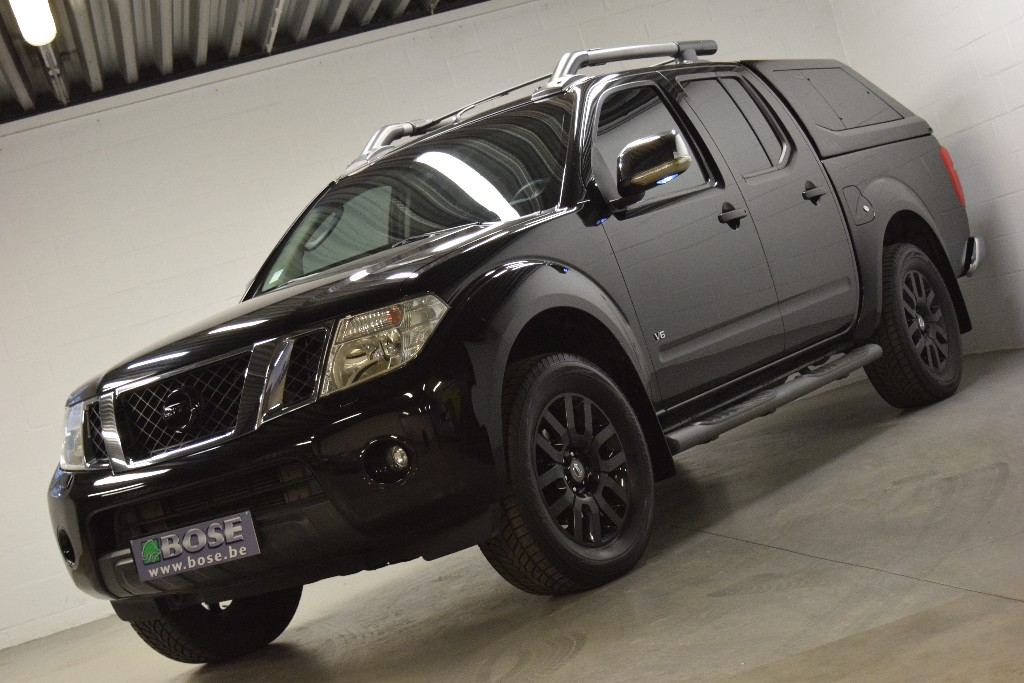 nissan navara 3 0 dci v6 231cv bose. Black Bedroom Furniture Sets. Home Design Ideas