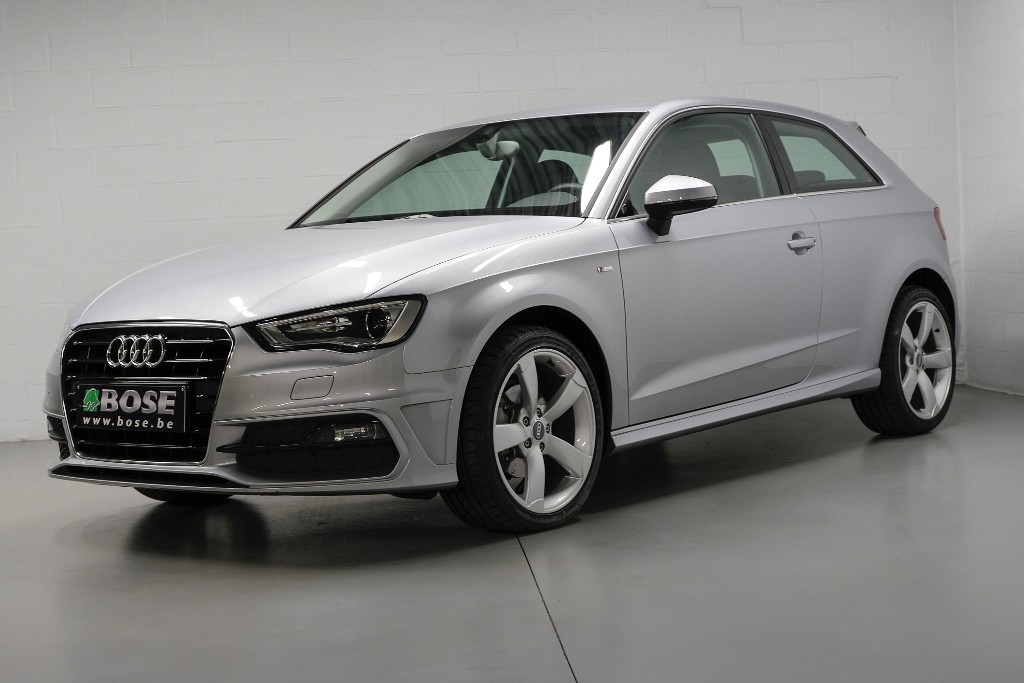 audi a3 1 6tdi s line gps mmi bi xenon led bose. Black Bedroom Furniture Sets. Home Design Ideas