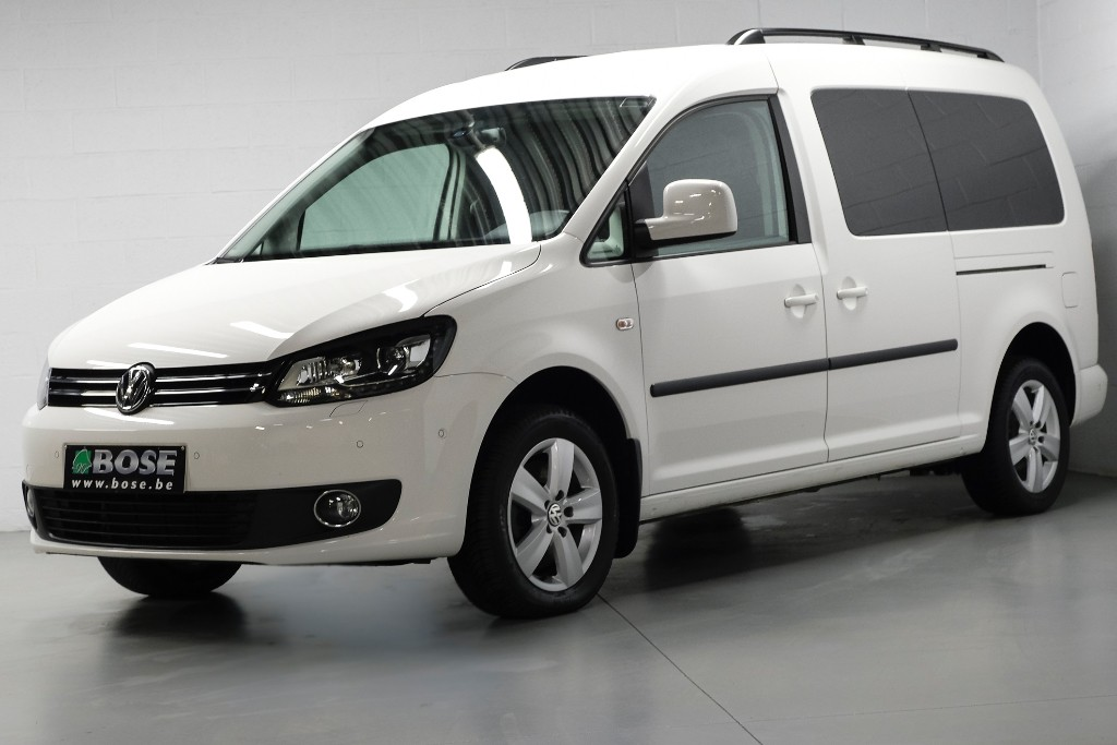 vw caddy maxi 2 0tdi xenon pdc park assist bose. Black Bedroom Furniture Sets. Home Design Ideas