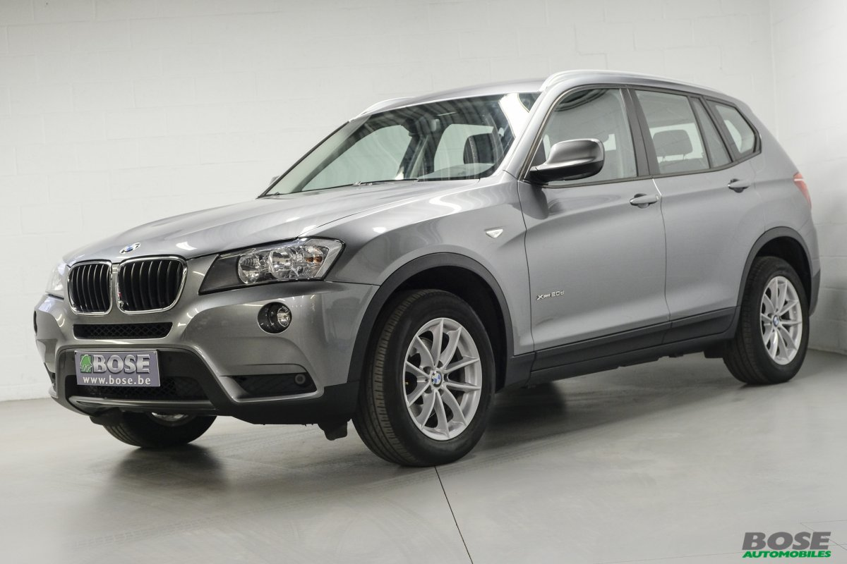 bmw x3 20 d xdrive20interieur sportnavigation